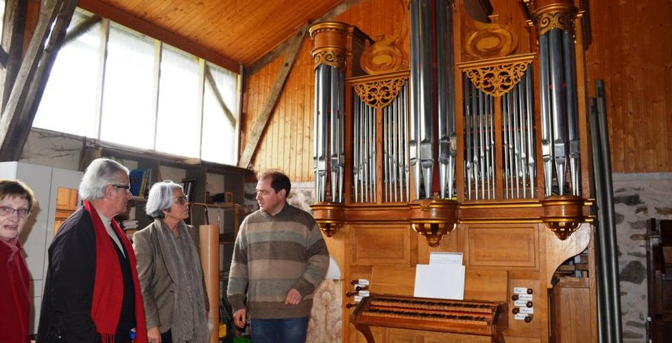 Fabriquant d'orgues à tuyaux dans l'Aveyron